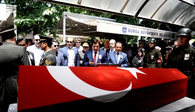 Bursalı şehit Mümin Pınardağ sonsuzluğa uğurlandı