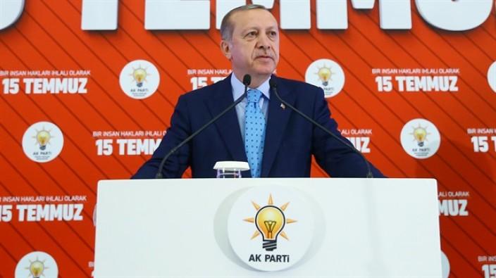 Cumhurbaşkanı Erdoğan: Huzursuzluk bitmeden OHAL kalkmayacak