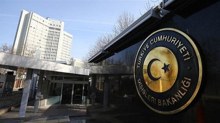 Dışişleri Bakanlığı'ndan Kıbrıs açıklaması