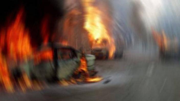 Dudullu'da fabrikada patlama