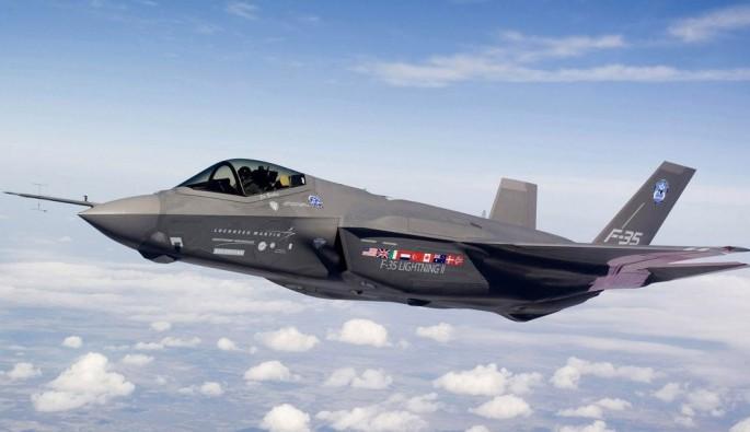 F-35 uçağı 21. orta gövdesi törenle teslim edildi
