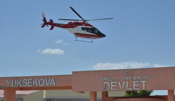 Hakkari Yüksekova'da patlama: 17 asker yaralı