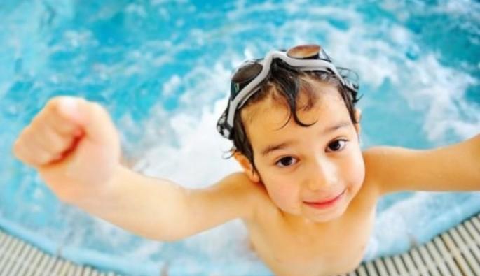 Havuzdaki tehlikeye dikkat