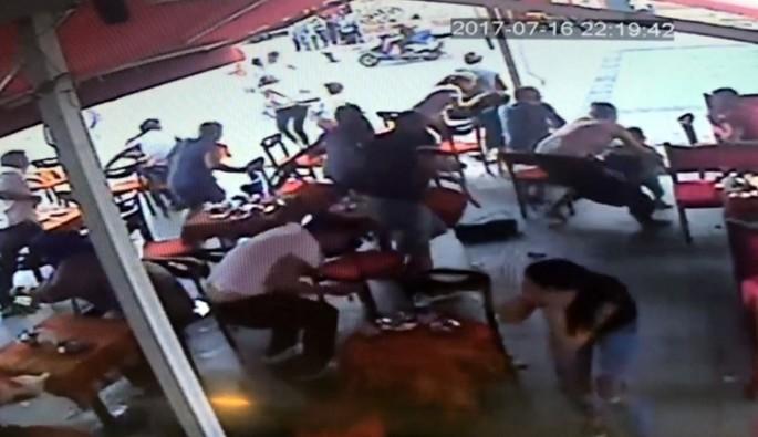 İstanbul'daki silahlı saldırı güvenlik kameralarına yansıdı