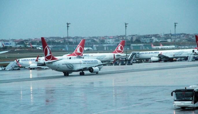 İstanbul'daki şiddetli yağış hava trafiğini de etkiledi