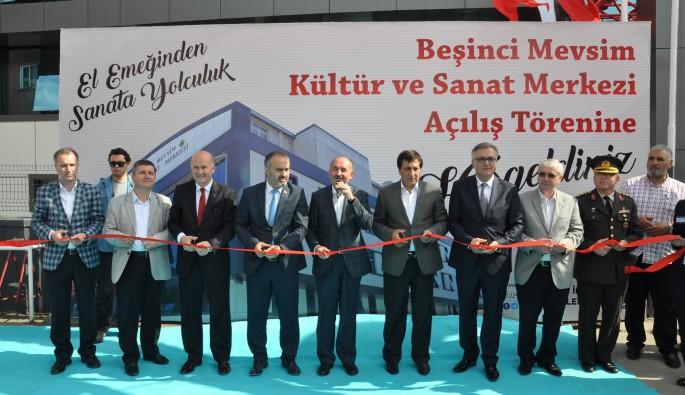Kapatılan FETÖ'nün binası hizmet merkezi oldu