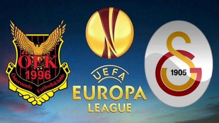 Östersunds-Galatasaray'ın 11'leri belli oldu