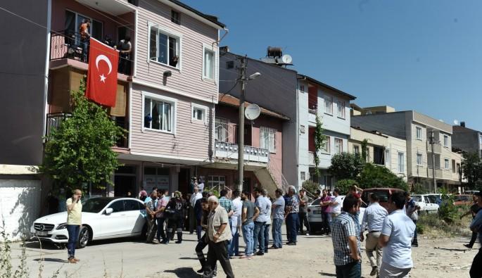 Şehit er Mümin Pınardağ'ın Bursa'daki baba ocağında yas var