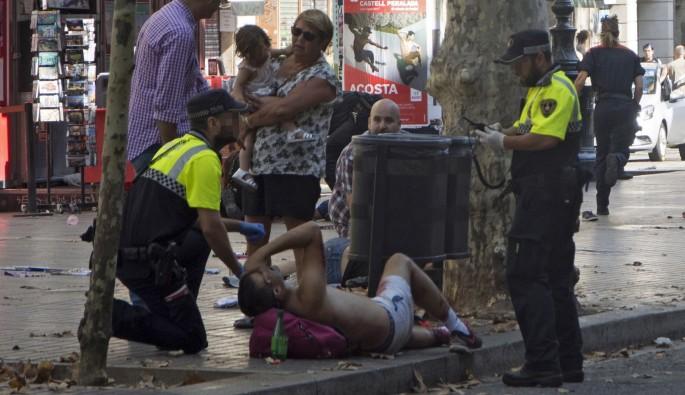 Barcelona'da terör saldırısı: 1 ölü, 32 yaralı