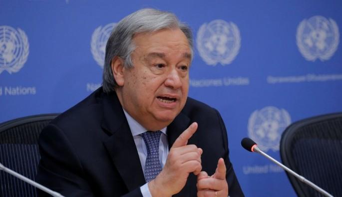"""BM Genel Sekreteri Guterres: """"Krize siyasi çözüm bulunmalı"""""""