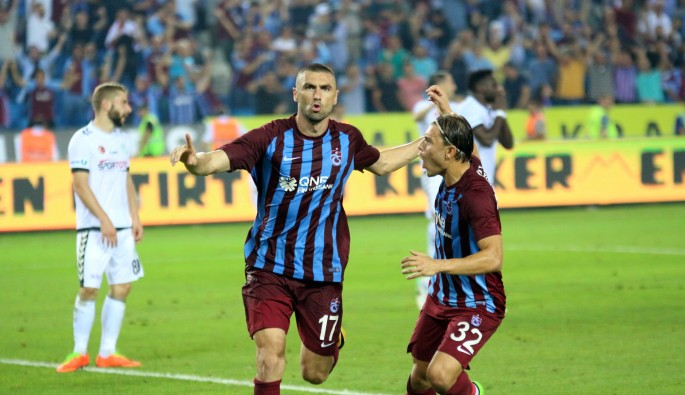 Burak Trabzon'a iyi geldi