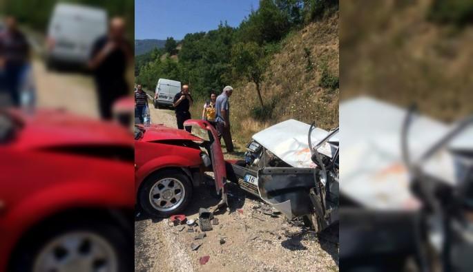 Bursa'da korkutan kaza: 2'si ağır 10 yaralı
