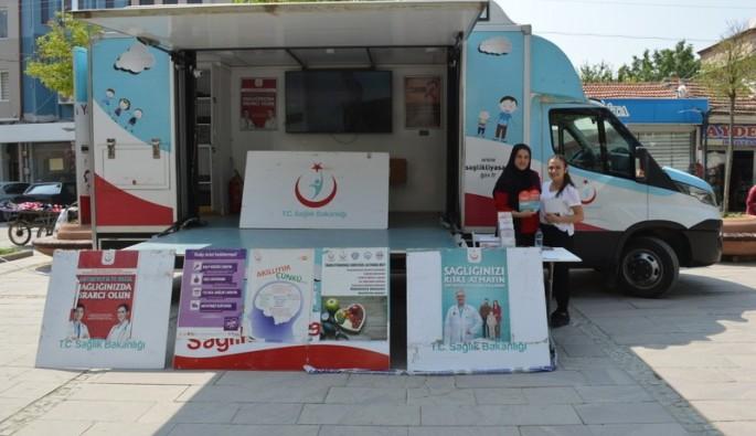 Bursa'da sağlık hizmeti halkın ayağına gidiyor