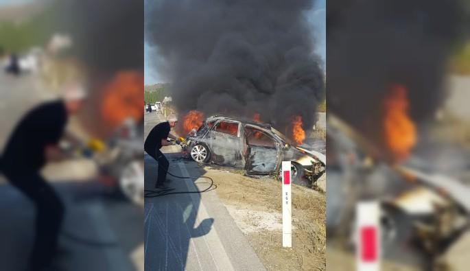 Çorum'da trafik kazası: 1 ölü, 2 yaralı