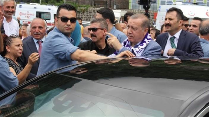 Cumhurbaşkanı Erdoğan'dan sınırda inceleme