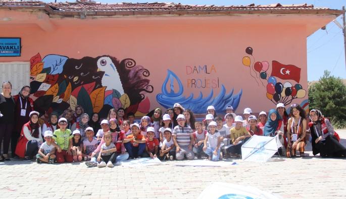 Damla Projesi gönüllüleri Malatya'da