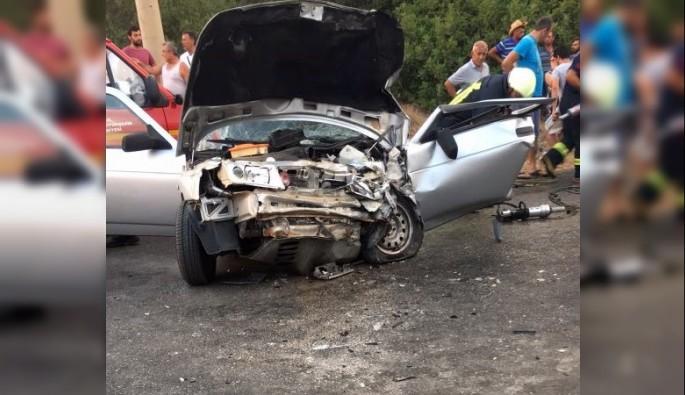Didim'de trafik kazası; 1 ölü, 4 yaralı