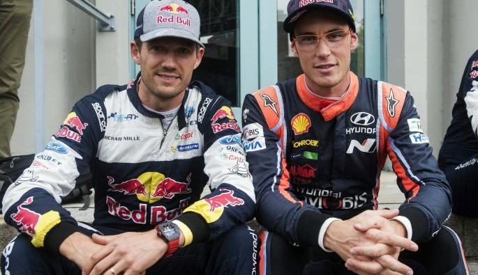 Dünya Ralli Şampiyonası'nda Red Bull sporcuları kapışıyor