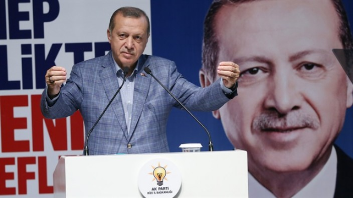 Erdoğan 'Türkiye Cumhuriyet'inden başka devletimiz yok'