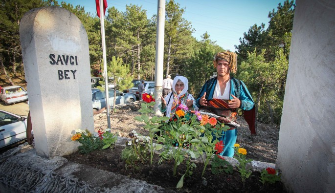 Ertuğrul Gazi'nin büyük oğlu Saru Batu Savcı Bey anıldı