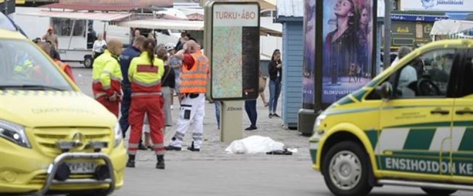 Finlandiya'daki saldırı sonucu yaralananlardan bir kişi daha hayatını kaybetti