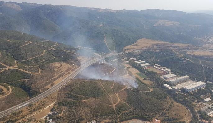 İzmir'de kapatılan askeri lisede yangın