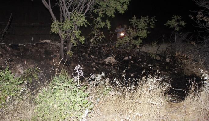Karadağ'da ormanlık alanı ateşe vermeye çalıştılar