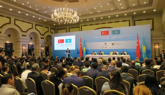 Başkent Astana'da Kazakistan-Türkiye İş Forumu düzenlendi