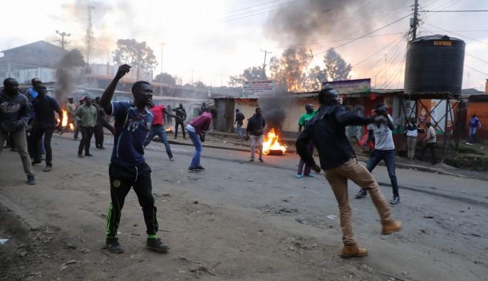 Kenya'da seçimler protesto ediliyor