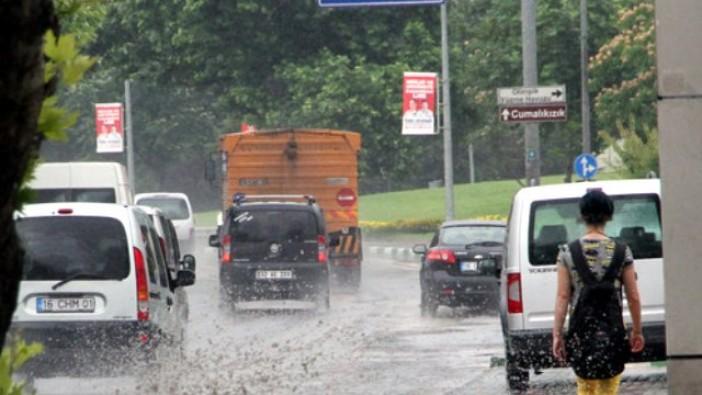 O güne dikkat! Bursa'ya sağanak yağış uyarısı