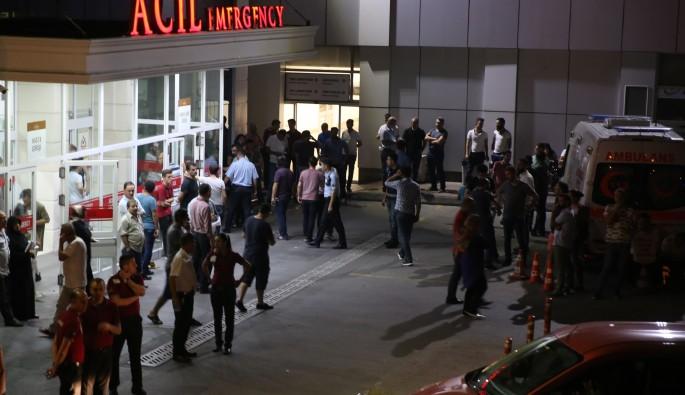 Polise bıçaklı saldırı: 1 polis şehit