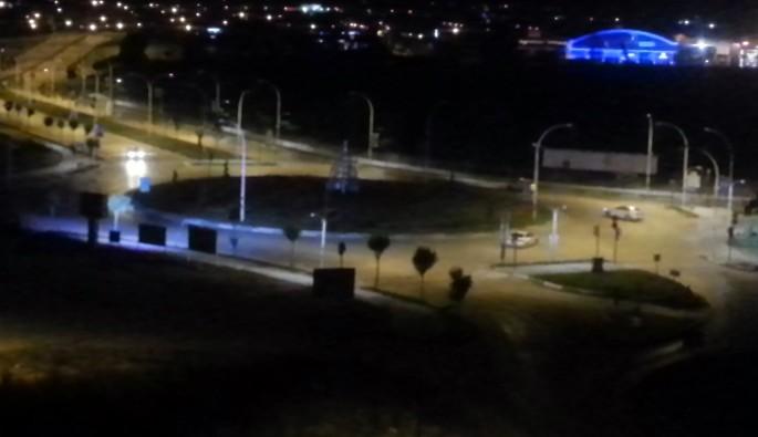 Şehrin göbeğinde gece yarısı tehlikeli drift