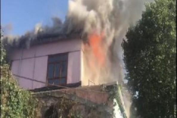 Tarihi hamamda büyük yangın