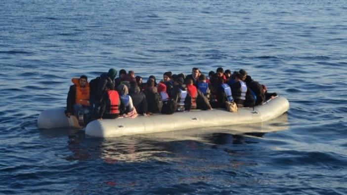 Yunanistan'a geçmeye çalışan 24 kaçak göçmen yakalandı