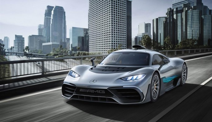 2.72 milyon dolarlık Mercedes-AMG Project ONE