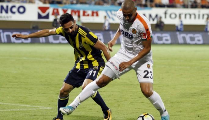 A. Alanyaspor: 1 - Fenerbahçe: 4