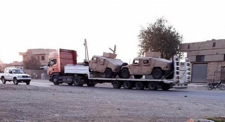 ABD 'den PYD'ye zırhlı araç sevkiyatı