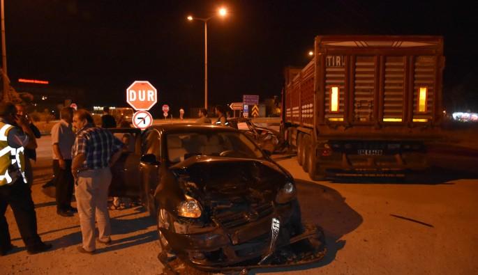 Amasya'da trafik kazası: 6 yaralı