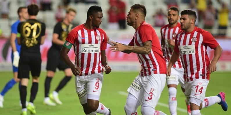 Antalyaspor: 3 - Osmanlıspor: 0