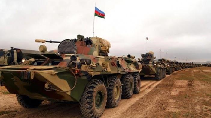 Azerbaycan ordusu dosta güven, düşmana korku saldı