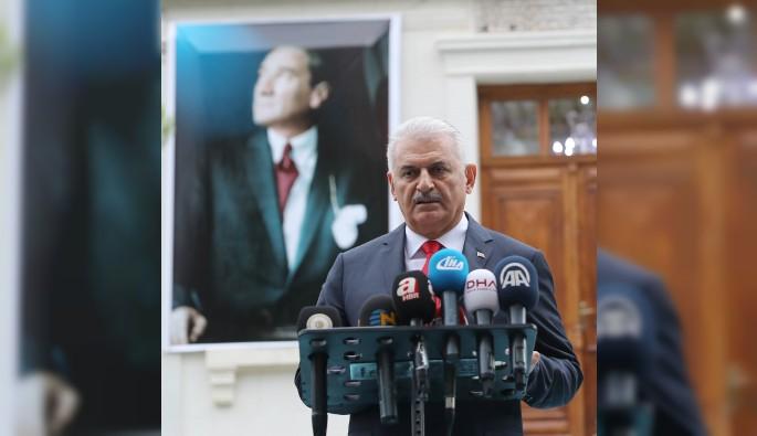 """Başbakan Binali Yıldırım """"Erbil'e sefer yapmayacağız"""""""