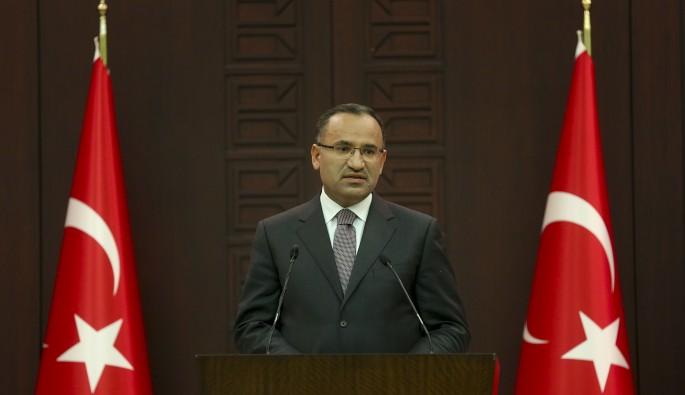 """Başbakan Yardımcısı Bozdağ: """"Tanrıkulu'nun yaptığı açıklama hadsiz, yanlış ve saygısız bir açıklama"""""""