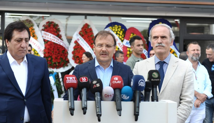 Başbakan Yardımcısı Hakan Çavuşoğlu Bursa'da konuştu