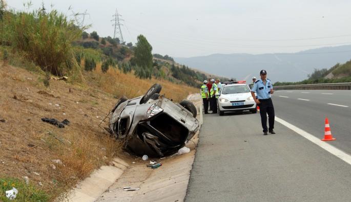 Bursa'da çevre yolunda feci kaza: 1 ölü
