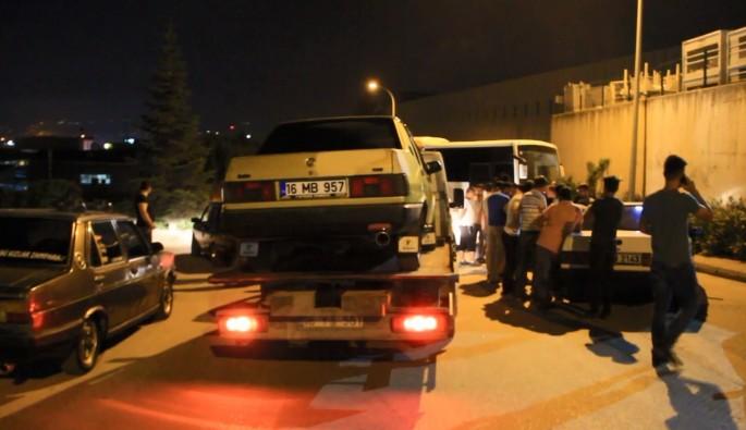 Bursa'da drift yapanlara operasyon
