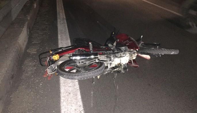 Bursa'da ehliyetsiz sürdüğü motor sonu oldu
