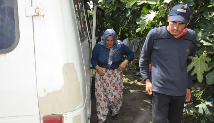 Bursa'da evleri yanan aile hurda minibüste yasam savaşı veriyor