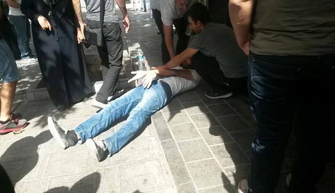 Bursa'da ibretlik görüntü! Madde bağımlısı genç kriz geçirdi
