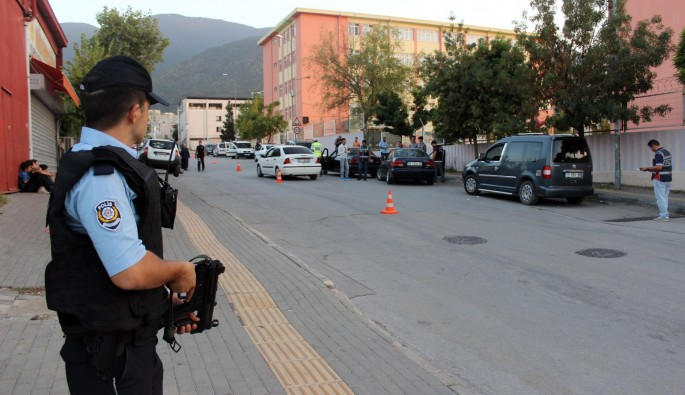 Bursa'da huzur operasyonları devam ediyor