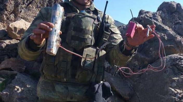 Çukurca'da saldırı hazırlığındaki PKK'lı teröristlere operasyon